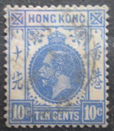 Poštovní známka Hongkong 1912 Král Jiøí V. Mi# 103
