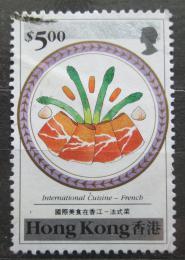 Poštovní známka Hongkong 1990 Francouzská kuchynì Mi# 590 Kat 7€