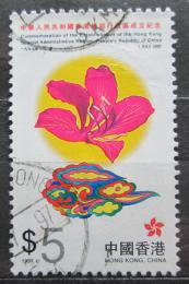 Poštovní známka Hongkong 1997 Bauhínie Mi# 825