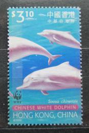 Poštovní známka Hongkong 1999 Delfíni Mi# 921