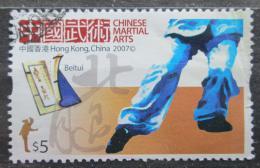 Poštovní známka Hongkong 2007 Èínské bojové umìní Mi# 1431