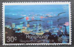 Poštovní známka Hongkong 1983 Noèní Victoria Mi# 415