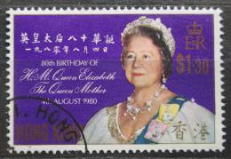 Poštovní známka Hongkong 1980 Královna Matka Mi# 363 Kat 3.50€