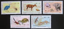 Poštovní známky SAR 1971 Africká fauna TOP SET Mi# 225-29 Kat 45€