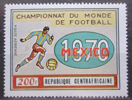 Poštovní známka SAR 1970 MS ve fotbale Mi# 221 Kat 4€