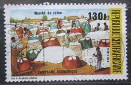 Poštovní známka SAR 1984 Trh s bavlnou Mi# 1073