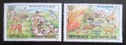 Poštovní známky SAR 1984 Africká fauna Mi# 1004-05 Kat 8.50€