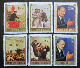 Poštovní známky Guinea 1970 V. I. Lenin Mi# 565-70 Kat 6.50€