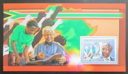 Poštovní známka Guinea 2006 Nelson Mandela Mi# Block 980