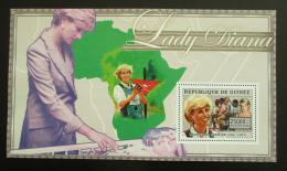 Poštovní známka Guinea 2006 Princezna Diana Mi# Block 1011