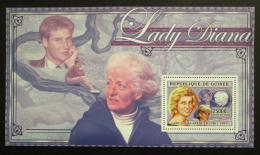 Poštovní známka Guinea 2006 Princezna Diana Mi# Block 1012