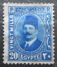 Poštovní známka Egypt 1934 Král Fuad Mi# 207