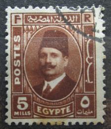 Poštovní známka Egypt 1936 Král Fuad Mi# 216