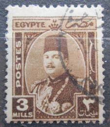 Poštovní známka Egypt 1946 Král Farouk Mi# 270