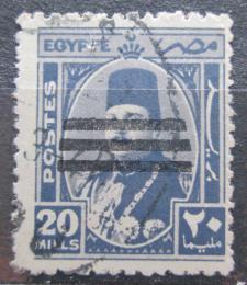 Poštovní známka Egypt 1953 Král Farouk pøetisk Mi# 424