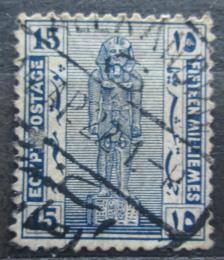 Poštovní známka Egypt 1922 Socha Ramsese II. Mi# 60