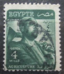 Poštovní známka Egypt 1953 Farmáø Mi# 398