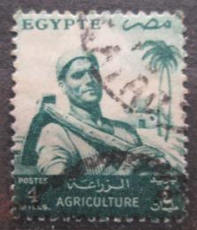 Poštovní známka Egypt 1954 Farmáø Mi# 477