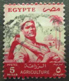 Poštovní známka Egypt 1955 Farmáø Mi# 478
