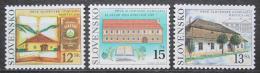 Poštovní známky Slovensko 2002 První slovenská gymnázia Mi# 419-21