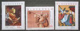 Poštovní známky Slovensko 2003 Umìní Mi# 472-74