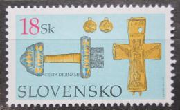 Poštovní známka Slovensko 2003 Muzejní exponáty Mi# 470