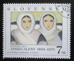 Poštovní známka Slovensko 1994 Umìní, Alexy Mi# 211
