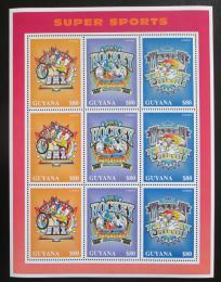 Poštovní známky Guyana 1996 Disney, Mickey Mouse Mi# 5635-37 Bogen Kat 13€