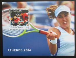 Poštovní známka Guinea-Bissau 2003 LOH Atény Mi# Block 428 Kat 12€