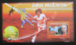 Poštovní známka Guinea 2009 Tenisti, John McEnroe Mi# Block 1704 Kat 11€