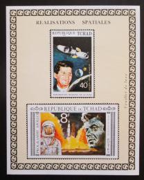 Poštovní známka Èad 1971 Program Apollo, J. F. Kennedy Mi# Block 14 B Kat 50€