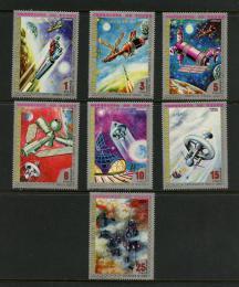 Poštovní známky Rovníková Guinea 1973 Prùzkum Venuše Mi# 217-23