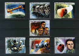 Poštovní známky Rovníková Guinea 1972 Prùzkum vesmíru Mi# 190-96