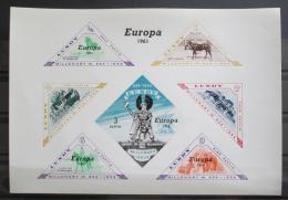 Poštovní známky Lundy, Velká Británie 1961 Evropa CEPT neperf. Mi# N/N