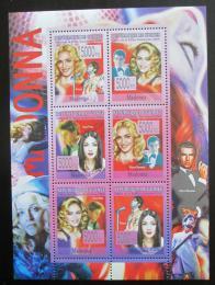 Poštovní známky Guinea 2008 Madonna Mi# 5638-43 Kat 12€