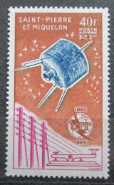 Poštovní známka St. Pierre a Miquelon 1965 ITU, 100. výroèí Mi# 412 Kat 22€
