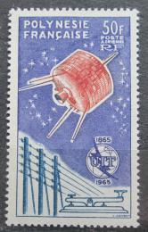 Poštovní známka Francouzská Polynésie 1965 ITU, 100. výroèí TOP Mi# 44 Kat 100€