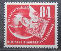 Poštovní známka DDR 1950 Výstava DEBRIA Mi# 260 Kat 55€