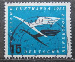 Poštovní známka Nìmecko 1955 Lufthansa Mi# 207 Kat 7€