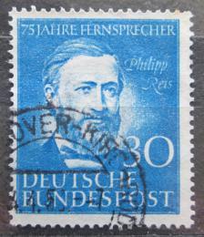 Poštovní známka Nìmecko 1952 Philipp Reis Mi# 161 Kat 18€