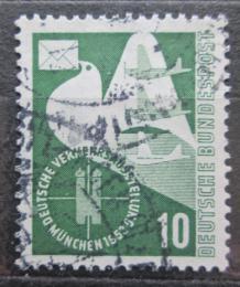 Poštovní známka Nìmecko 1953 Poštovní holub Mi# 168 Kat 8€
