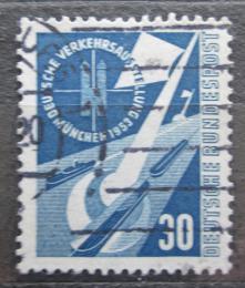 Poštovní známka Nìmecko 1953 Dopravní výstava Mi# 170 Kat 20€