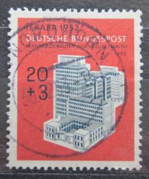 Poštovní známka Nìmecko 1953 Budova telekomunikací Mi# 172 Kat 28€