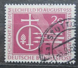 Poštovní známka Nìmecko 1955 Bitva na Lechfeldu Mi# 216 Kat 4€