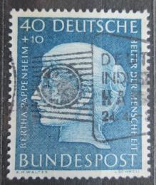 Poštovní známka Nìmecko 1954 Bertha Pappenheim Mi# 203 Kat 45€