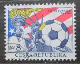 Poštovní známka Èeská republika 1994 MS ve fotbale Mi# 45