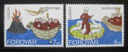 Poštovní známky Faerské ostrovy 1994 Evropa CEPT Mi# 260-61