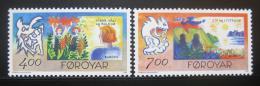 Poštovní známky Faerské ostrovy 1995 Evropa CEPT Mi# 278-79