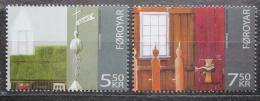 Poštovní známky Faerské ostrovy 2006 Kostel, Sandur Mi# 584-85