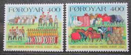 Poštovní známky Faerské ostrovy 1994 Zvyky a obyèeje Mi# 270-71